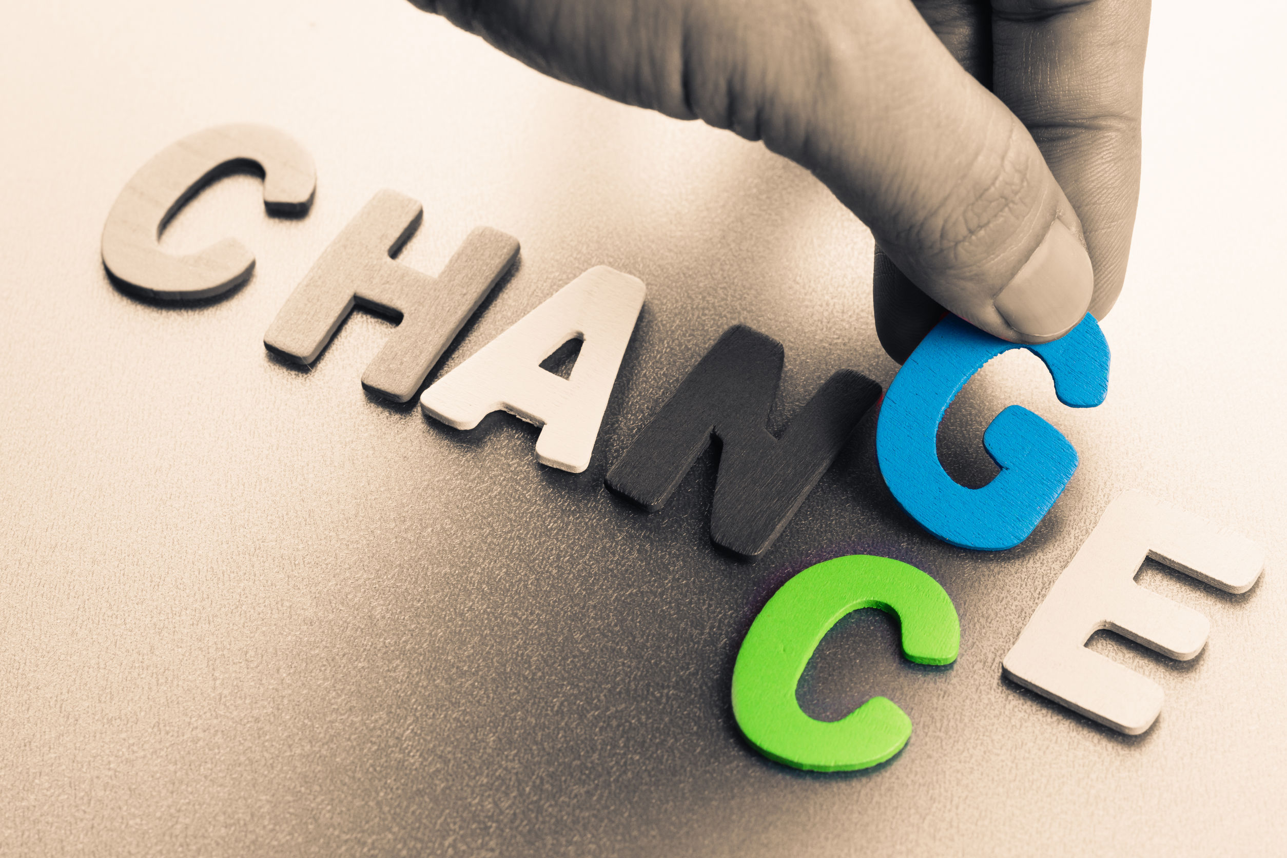 concept of change